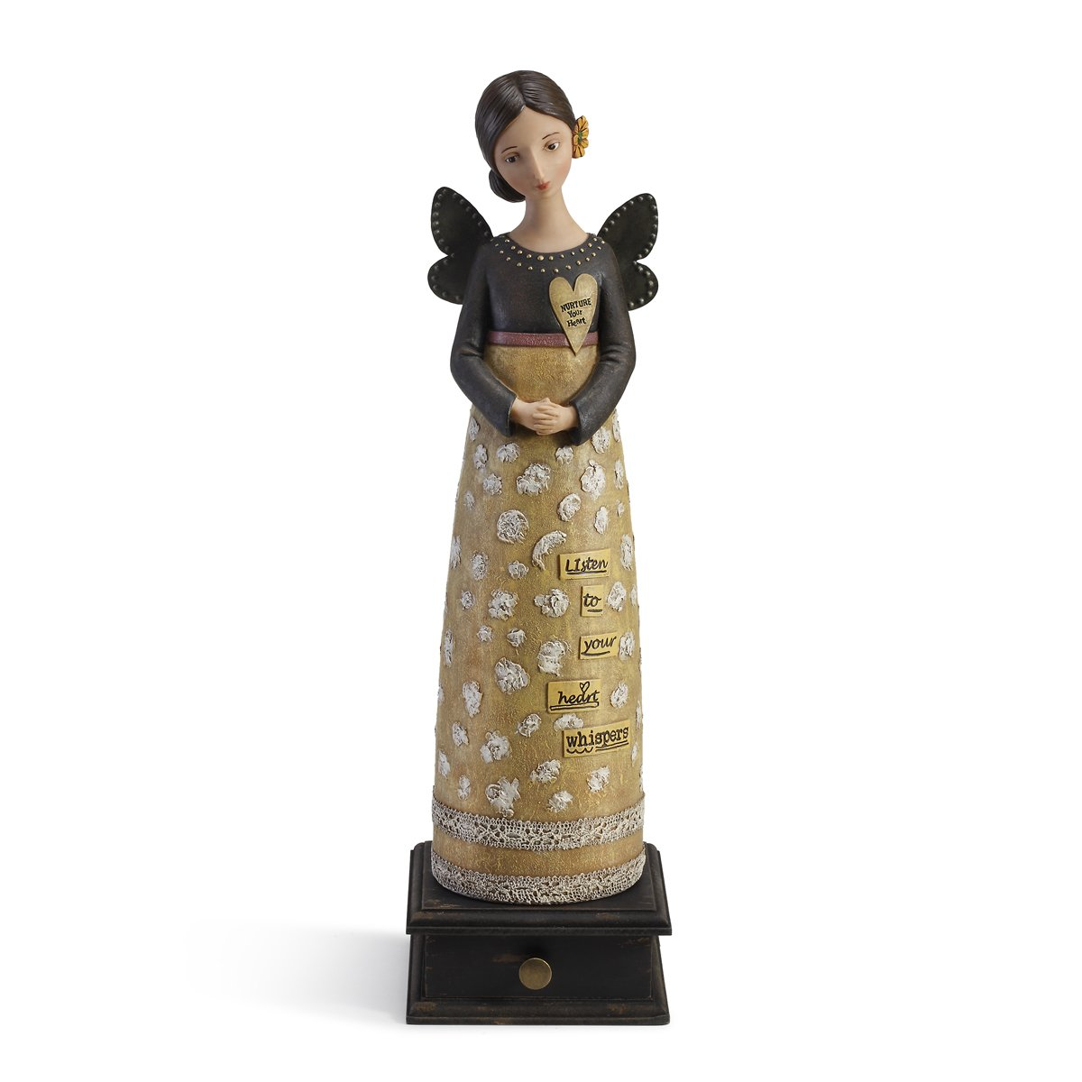 Demdaco Kelly Rae Roberts Heart Whispers Angel figure 1002720221