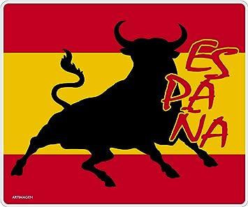 Artimagen Alfombrilla, Mouse Pad España Toro Saltando 245x205 mm.: Amazon.es: Electrónica