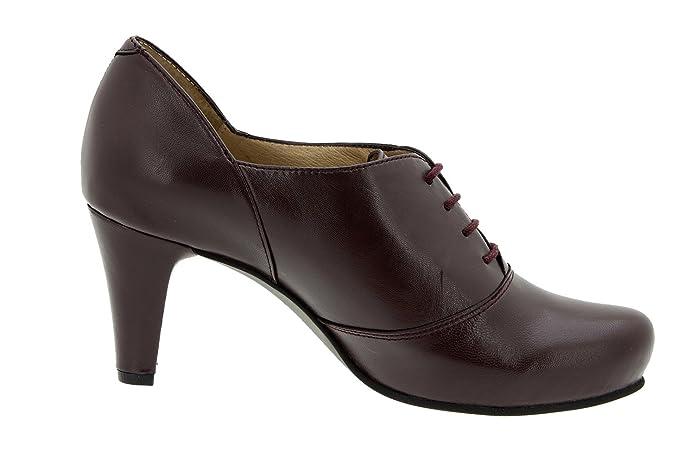 Scarpe donna comfort pelle Piesanto soletta estraibile 5234 stringhe scarpe  di sera comfort larghezza speciale: Amazon.it: Scarpe e borse