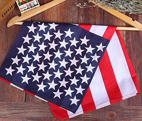accessorio per parrucchieri ideale per allenamento e da usare come bandana fascia per capelli unisex 3 fasce per capelli con motivo con bandiera americana a stelle e strisce