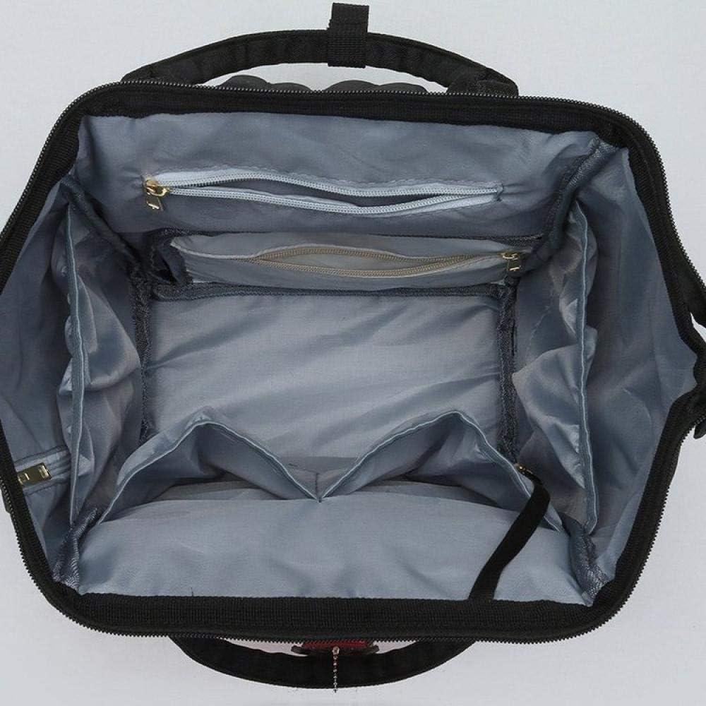 cabeza blanca de mickey mouse Mochila Maternal bolsa para calentar biberones bolsa de reemplazo de pa/ñales qiqiu mochila maternal Bolsa para la madre y el ni/ño