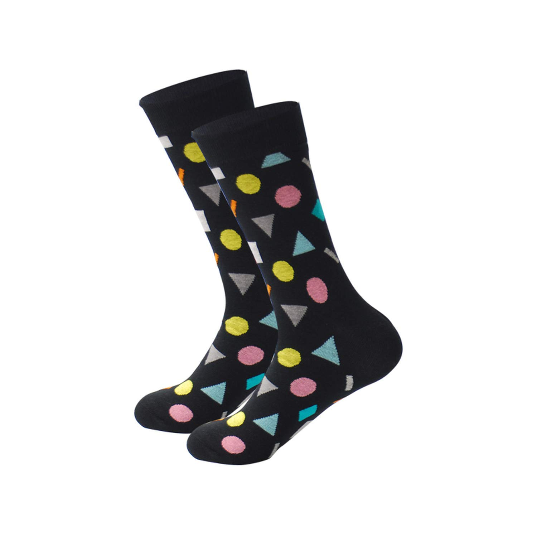 Amazon.com: Mens Happy Socks 27 Colors Striped Plaid Diamond Cherry Socks Men Combed Cotton Calcetines Largos Hombre,1: Clothing