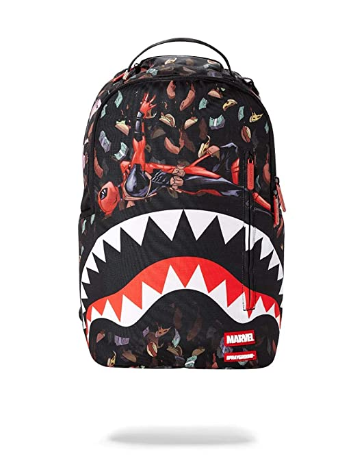 SPRAYGROUND BACKPACK DEADPOOL TACO$ RAIN SHARK