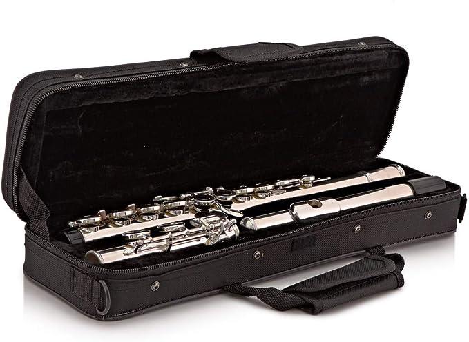Flauta Travesera de Estudiante con Estuche de Gear4music: Amazon.es: Instrumentos musicales