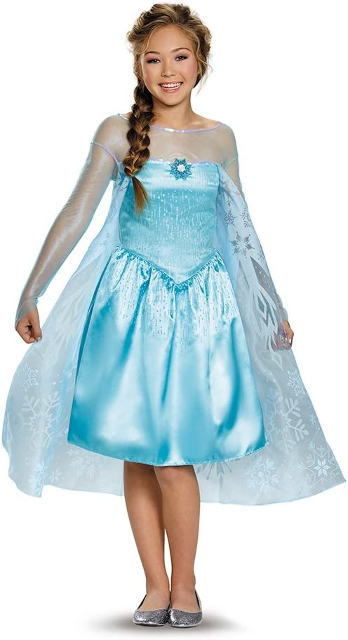 Amazon.com: Disguise Disfraz Elsa para preadolescentes, Un ...