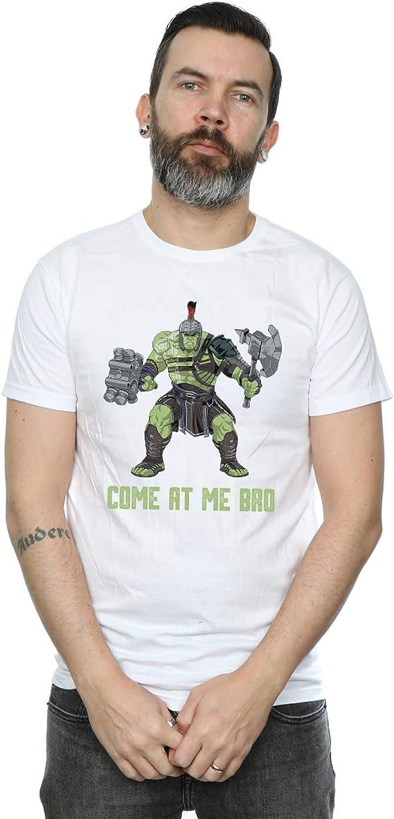 Marvel Hombre Thor Ragnarok Come At Me Bro Camiseta: Amazon ...