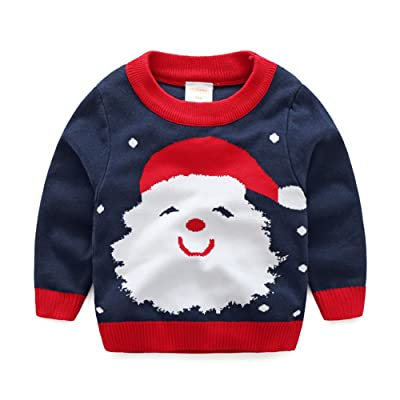 Baby Boy Girl Sweaters Cotton Toddler Infant Knit Christmas Sweaters