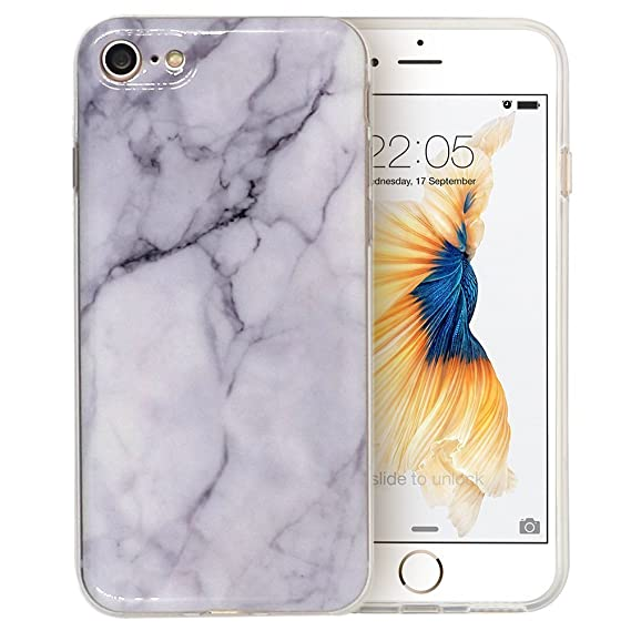 various colors 1ff3c 0088c iPhone 7 Case, Marble Style [BLUEWALL] Marbling Anti Shock Anti Scratch  Dust Proof Design TPU Flexible Case For iPhone7 (4.7 inch) Marble Pattern  ...