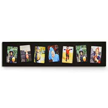 Amazoncom Decenthome Wood Wall Picture Photo Frame 4x6 6 Opening