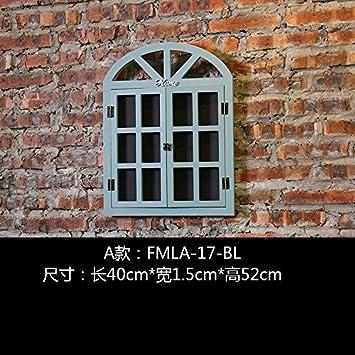 Pastoral de colgar de la pared retro restaurante ventana ...