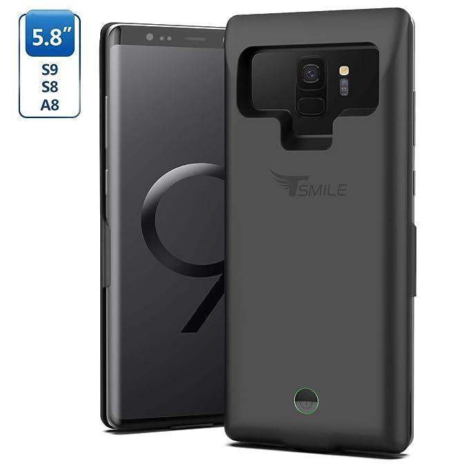 the best attitude 839d8 5d89f Amazon.com: Galaxy S8 Battery Case,Tsmile 7000mAh Portable Charging ...
