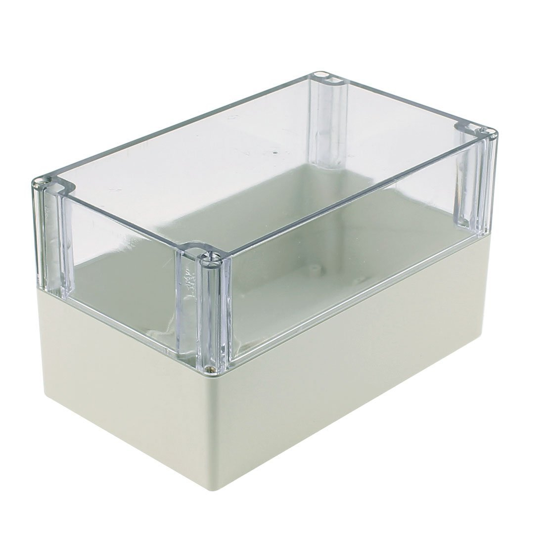 Amazon.com: eDealMax 200 x 120 x 113 mm cubierta transparente caja sellada a prueba de agua Junction Box Enclosure: Electronics