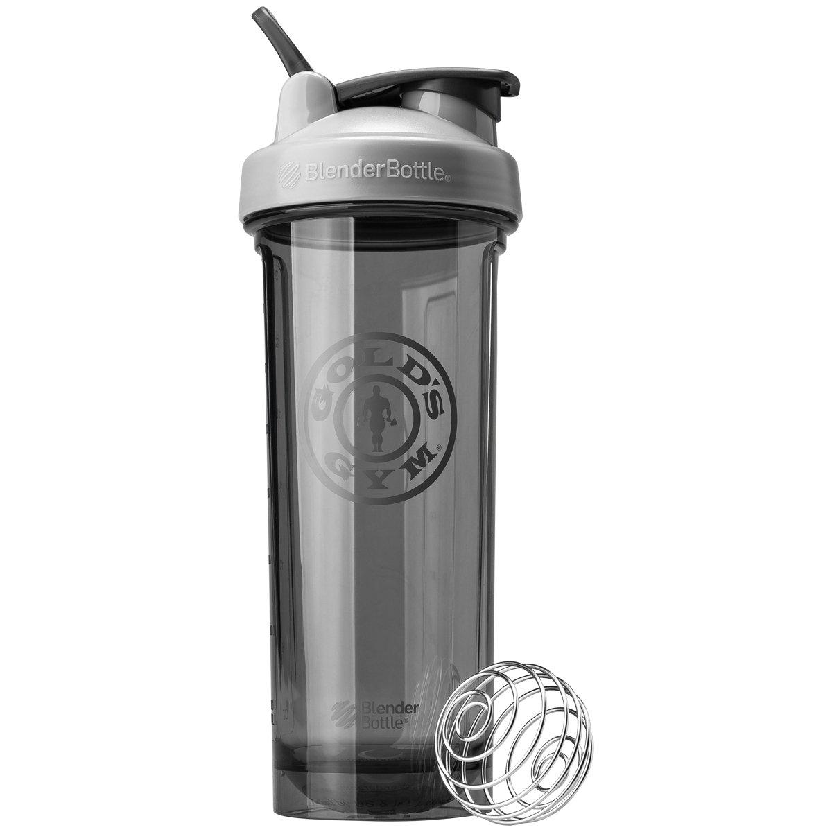 Blender Bottle Gold's Gym Pro 32 oz. Shaker Bottle with Loop Top - Gray