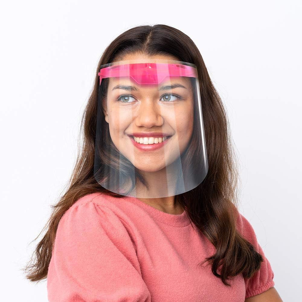 Full Face shield sur mousse Bandeau