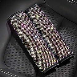 Bling Crystal Car Seat Belt Shoulder Pads