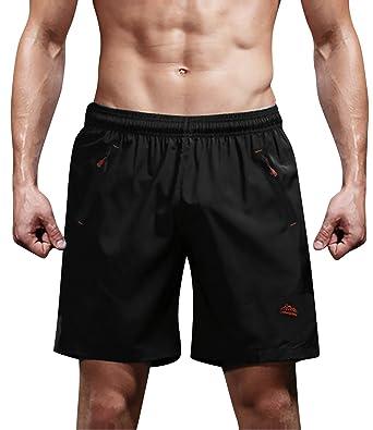 Dolamen Bañador de Natación Boxer para Hombre, Hombre Bañador Traje de Baño Pantalones Cortos Playa Piscina, con cordón Ajustable Dentro & Bolsillos ...