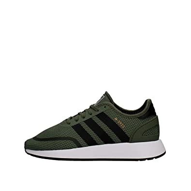adidas Originals N 5923 J Green Textile Youth Trainers