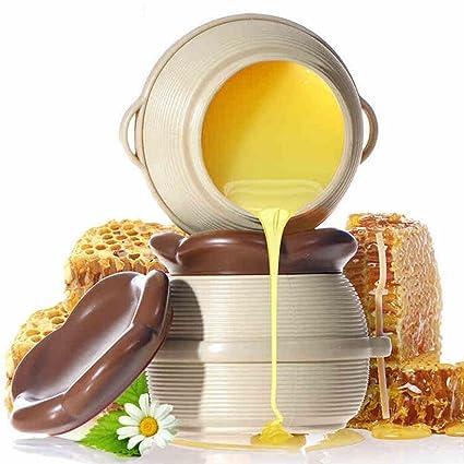 igemy leche miel de cera de parafina máscara Blanqueamiento cuidado de manos hidratante cuidado de la