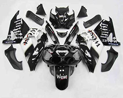 Amazon.com: 01 ABS Motorcycle Fairing Fit For Kawasaki Ninja ...