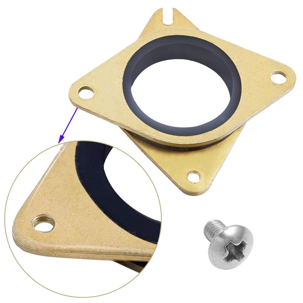 ZREAL 5//10 amortisseurs de Vibration en Caoutchouc Pas /à Pas de PCs des vis Creality CR-10 10S imprimante 3D