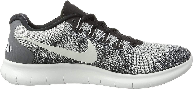Nike Free RN 2017, Zapatillas de Running para Hombre, Gris (Wolf Grey/Off White/Pure Platinum/Black), 42 EU: Amazon.es: Zapatos y complementos