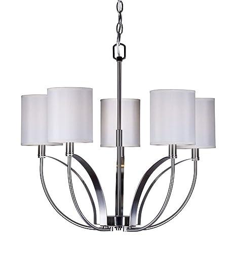 Amazon.com: Forte iluminación 7089 – 05 – 5 luz 23 – 3/4 ...