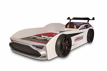 GT18 Kinder Autobett Turbo 4x4 in Weiß