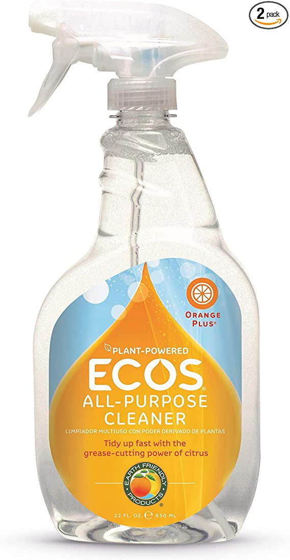 ECOS Earth Friendly Plant-Powered Orange Plus Cleaner