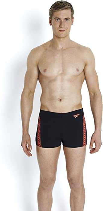 9451e0262d Amazon.com: Speedo Monogram Mens Swimming Aqua Shorts - 28: Clothing