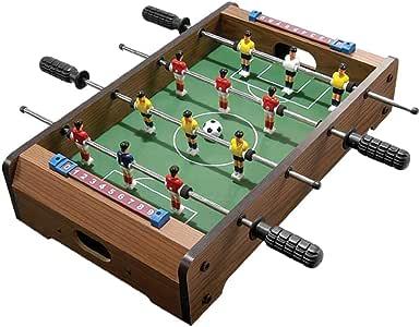 P Prettyia Mesa de Futbolín 14 Pulgadas para Juego de Fútbol en Casa Bar: Amazon.es: Juguetes y juegos