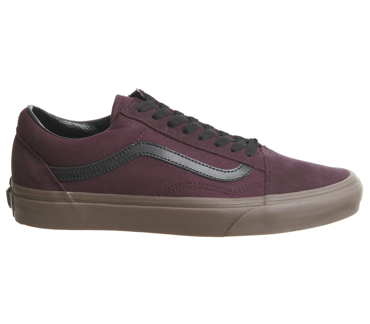 dfd4c72727 Vans Unisex Shoes Old Skool (Gum Outsole) Catawba Grape Sneakers (7 D(M) US  Men 8.5 B(M) US Women)