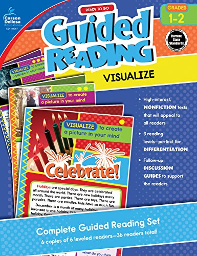 Carson-Dellosa Ready to Go Guided Reading: Visualize Resource Book, Grades 1-2 (Teaching Middle School Students To Analyze Text)