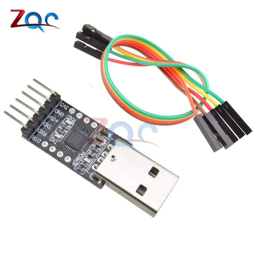 3,3V//5V Typ A USB to TTL Konverter Modul 2x6 Pin Multi-Funktion CP2102 Arduino