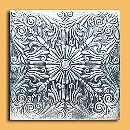 antique ceilings inc astana silver black styrofoam ceiling tile package of 10 tiles - Antique Ceiling Tiles