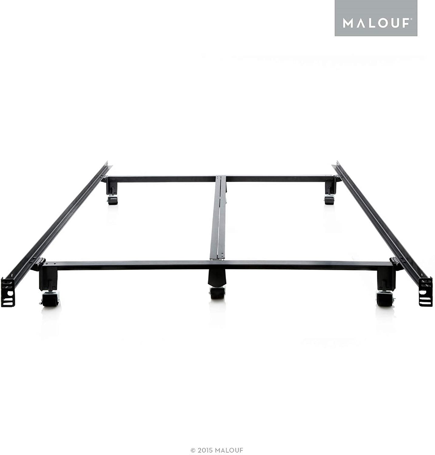 STRUCTURES STEELOCK Super Duty Steel Wedge Lock Metal Bed Frame – Twin