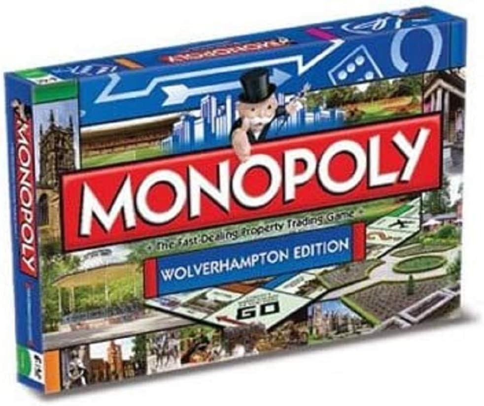 Monopoly - Locomotora para modelismo ferroviario, de 2 a 6 Jugadores (Winning Moves 21203) (versión en inglés): Amazon.es: Juguetes y juegos