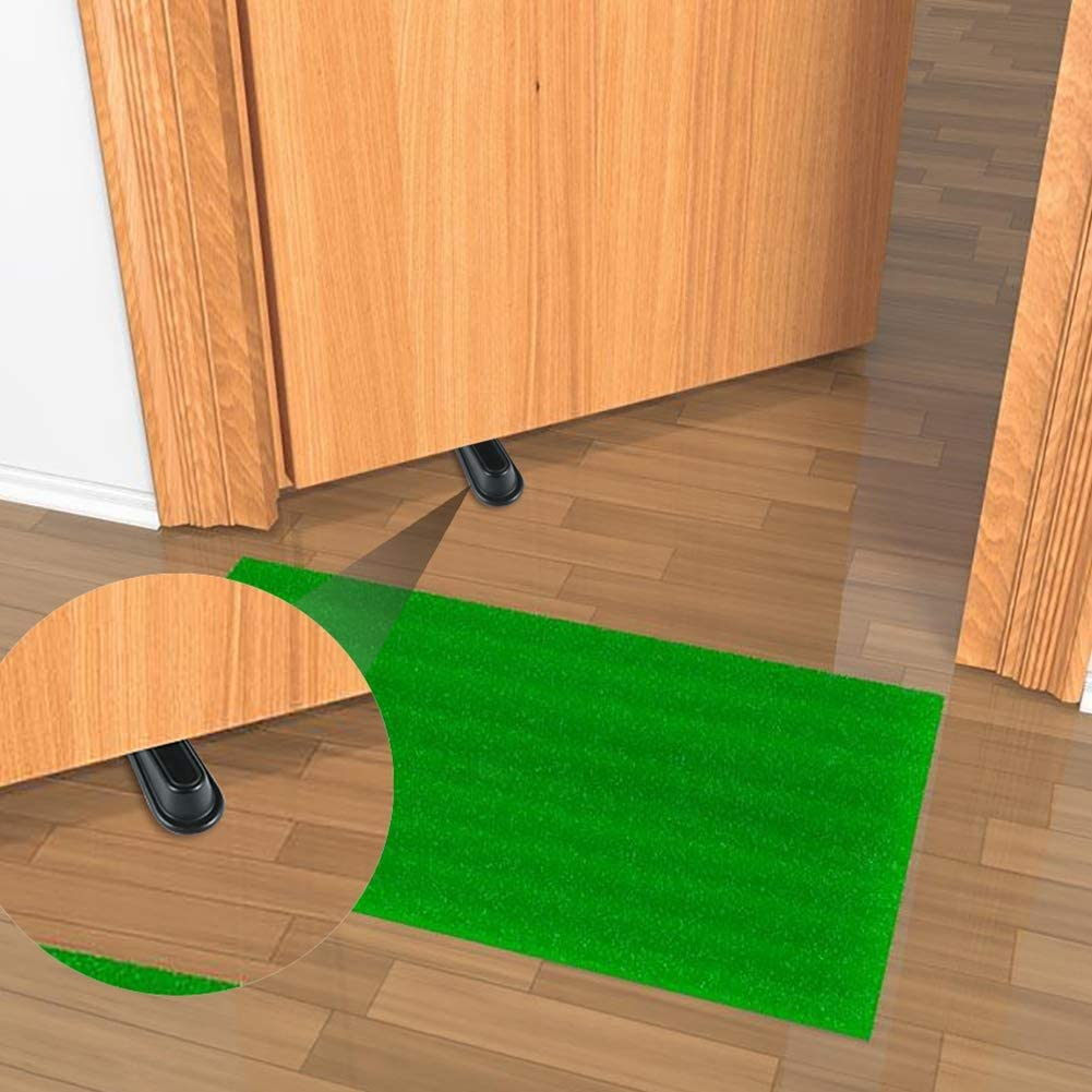 Rubber Doorstop Wedge Suitable for All Floors Non-Scratching and Anti-Slip Design 5 Packs