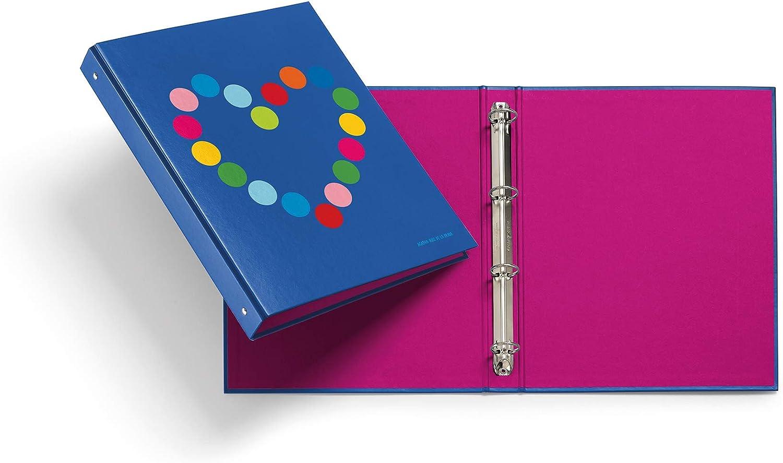 Miquelrius - Pack con 2 carpetas cartón 4 anillas de 25 mm A4, Agatha Ruiz de la Prada Topos: Amazon.es: Oficina y papelería