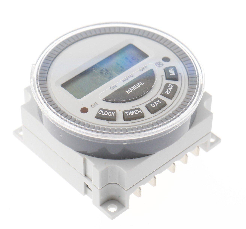 Programmateur horaire pour encastrement sur panneau TM-619 numé rique 230 V/AC 16 A/250 V 1 pc(s) CE