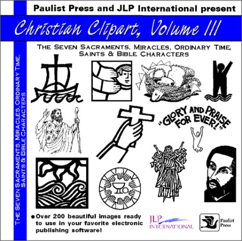 General Clipart - Christian Clip Art III: Sacraments, Miracles, Ordinary Time, Saints and Bible Characters