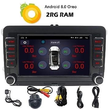 For Volkswagen GB ROM/16GB ROM, Radio de Coche Android 8.1 Auto ...