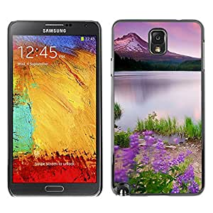 Hot Style Cell Phone PC Hard Case Cover // M00102517 nature wildflowers // Samsung Galaxy Note 3