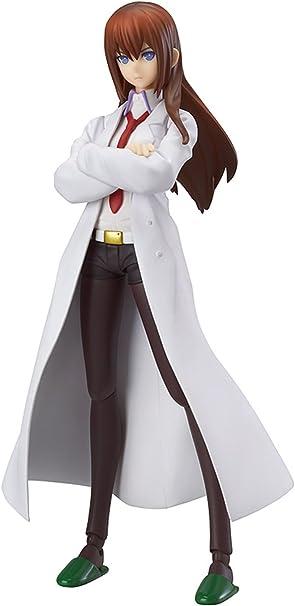 1//8 PVC Figure No Box New Anime Steins Gate Makise Kurisu White Coat Ver