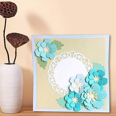 OOTSR Flower Metal Cutting Dies 3D Flower Die Cuts Stencil for Scrapbooking//Embossing//Photo Album Decor//DIY Craft//Gift