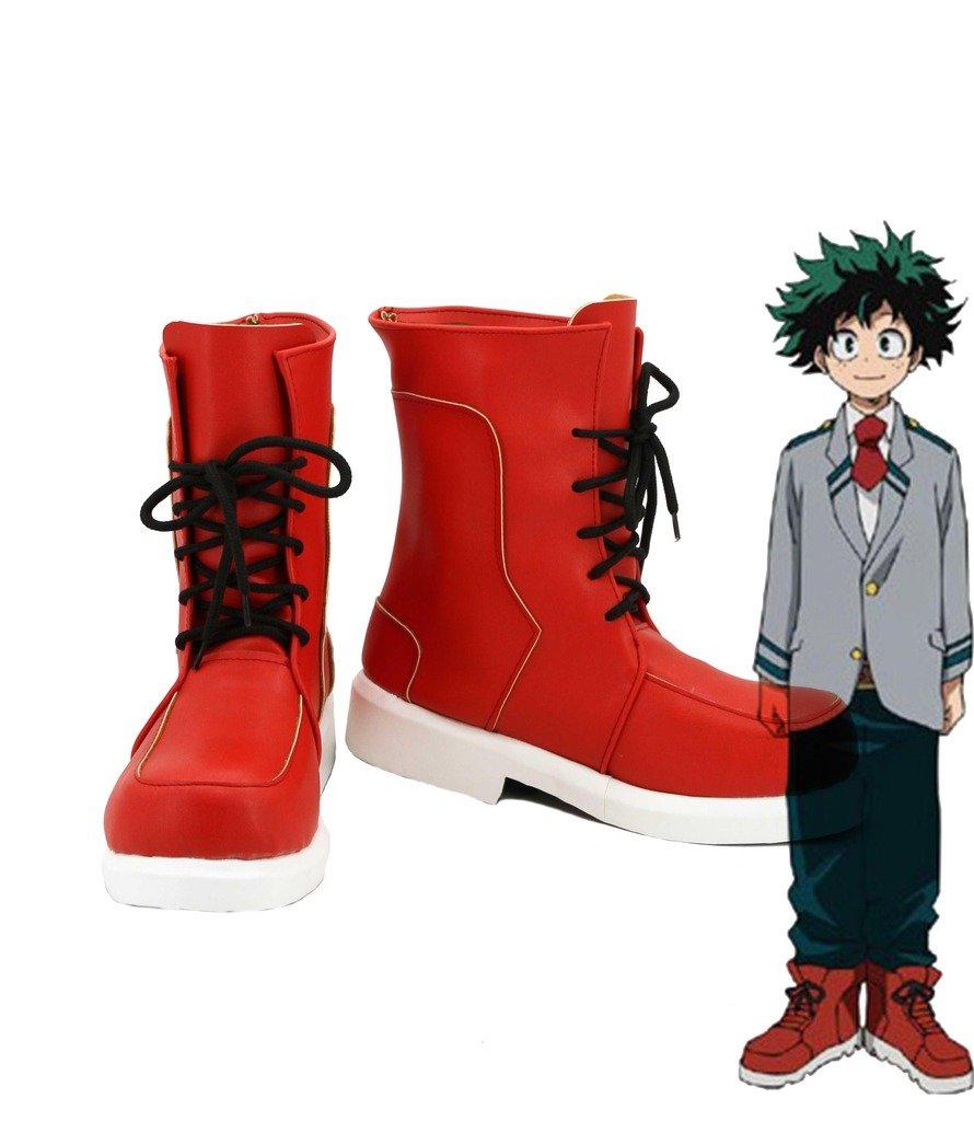 My Hero Academia Boku no Hero Academia Izuku Midoriya Cosplay Shoes Boots Custom Made