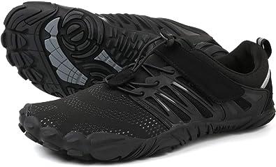 WHITIN Zapatillas minimalistas de lona, color Negro, talla 36 EU ...