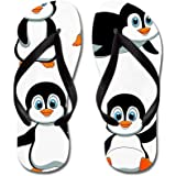 CafePress - Cute Penguin Cartoon - Flip Flops, Funny Thong Sandals, Beach Sandals