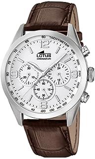 c1492d375137 Lotus Reloj Cronógrafo para Hombre de Cuarzo con Correa en Cuero 18155 1