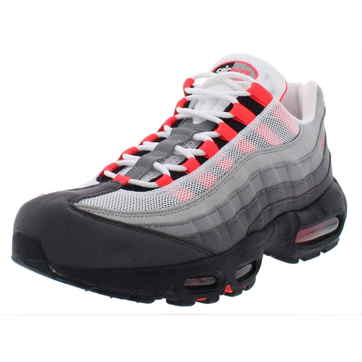 Nike Womens Air Max 95 OG Lifestyle Hiking, Trail Shoes Gray 8.5 Medium (B,M)