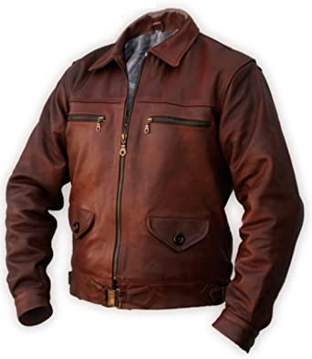 Noble House Hartmann Flight Jacket At Amazon Men S Clothing Store